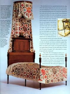 Bed hangins 18th century France