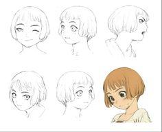 """Lavie Head"" - The Art of 村田 蓮爾 Renji ""Range"" Murata* Character Design Sketches, Character Design References, Character Illustration, Range Murata, Animation Reference, Art Reference, Character Concept, Concept Art, Cartoon Sketches"