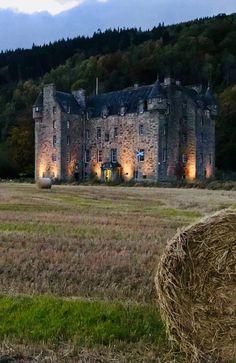 Aberfeldy - Perth and Kinross, Scotland Scotland Castles, Scotland Uk, Scottish Castles, Scotland Travel, Beautiful Castles, Beautiful Places, Cool Places To Visit, Places To Travel, Castle In The Sky