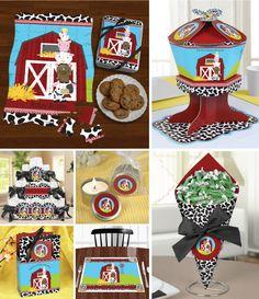 #FarmAnimals - Birthday Party Theme Ideas  http://www.bigdotofhappiness.com/farmanimals-birthdayparty-themeideas.html