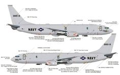 Boeing P-8A maritime patrol jets