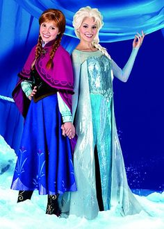 Anna and Elsa characters coming to the #DisneyParks in celebration of upcoming Disney's FROZEN