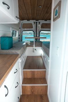 Van with elevated table area and mini garage. Van Life Ideas Van with elevated table area and mini garage. Van Life Ideas Van with elevated table area and mini garage. Van Life Ideas Van with elevated table area and mini garage. Sprinter Van Conversion, Van Conversion Layout, Van Conversion Interior, Camper Van Conversion Diy, Van Interior, Ford Transit Conversion, Campervan Conversions Layout, Mercedes Sprinter Camper Conversion, Sprinter Motorhome