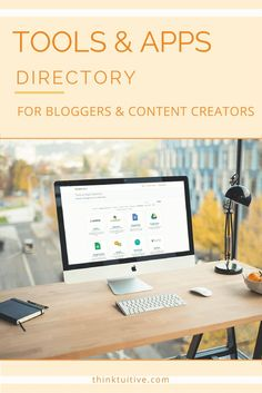 Tools & Apps Directory - a growing list of resources aimed to help bloggers, content creators, and online entrepreneurs their site.