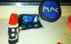"""Mac makeup"""" polymoreclay"""
