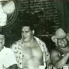 Wahoo McDaniel, Andre the Giant, The American Dream Dusty Rhodes Wrestling Superstars, Wrestling Divas, Dusty Rhodes, Watch Wrestling, Andre The Giant, Vince Mcmahon, Wwe Wallpapers, Sport Icon, Professional Wrestling