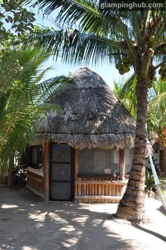 Luxury Huts Mexico | Glamping Beach Huts