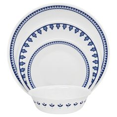 Visit Corelle® for a Boutique™ Porto Calle Dinnerware Set. The subtle designs of this collection are easily mixed and matched. Shop World Kitchen  sc 1 st  Pinterest & Corelle Vive 16-Piece Set Reminisce (Reminisce) Grey (Stoneware ...