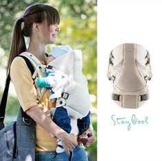 Stay comfortably close with Stokke MyCarrier Cool –a breathable mesh baby carrier with 3 ergonomic seating positions for little one