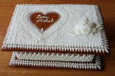 Truhlička z perníku Cake, Desserts, Tailgate Desserts, Deserts, Kuchen, Postres, Dessert, Torte, Cookies