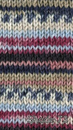 Adriafil Knitcol DK Wool is a beautiful dk multi coloured wool that produces a jacquard effect Crochet Yarn, Knitting Yarn, Knitting Patterns, Double Knitting, Wool Yarn, Yarns, Soft Fabrics, Swatch, Pure Products