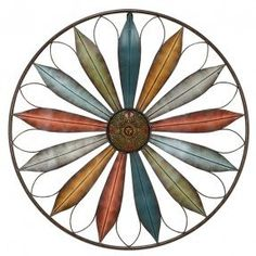 Marvelous Design Inspiration Circular Wall Art Designing Home Large Round Metal Foter Decor Flower Accent W