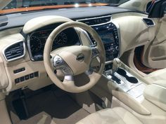 Comfort with class. The 2015 Nissan Murano's interior is a completely different world of luxuries and high technology -- well designed, convenient and comfortable throughout. ©Joshua Allen Harris