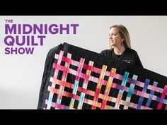 Angela Walters: a quilt top and walking foot quilting suitable for beginners