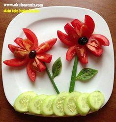 Food art for kids vegetables ideas for 2019 Cute Food, Good Food, Yummy Food, Food Design, Kreative Snacks, Baby Food Recipes, Healthy Recipes, Healthy Food, Coffe Recipes
