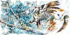 Image result for watercolour painting tumblr animals