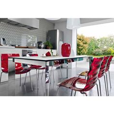 Dining Furniture by Calligaris at Hold It Contemporary Home Home Decor Furniture, Dining Furniture, Outdoor Furniture Sets, Contemporary Dining Table, Modern Dining Chairs, Decor Interior Design, Interior Decorating, Home Interiors And Gifts, Italian Dining