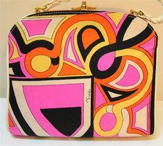 Vintage Pucci Mod Handbag