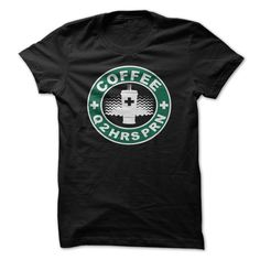 COFFEE Q2HRS PRN Casual Women's Nurse Tee