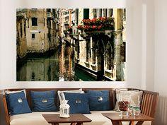 Poster Venedig Romantik - erhältlich auf www.klebespass.de