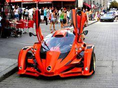 Orange T-Rex Campagna Aero 3S