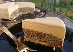 Mákos, csillagánizs mousse torta