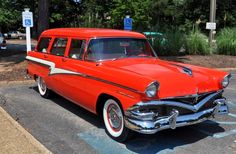 1955 Meteor Country Squire station wagon