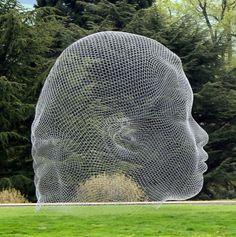 Jane Dzisiewski: Jaume Plensa Exhibition at Yorkshire Sculpture Park