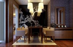 mid century modern dining room elegant   elegant-modern-dining-rooms-china-modern-elegant-dining-room-interior ...
