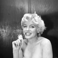MARILYN MONROE, AMBASSADOR HOTEL, NEW YORK, 22 FEBRUARY 1956 by BEATON, SIR CECIL, CBE (1904-1980) - photograph for sale from Beetles & Huxley