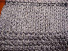 Tunisian crochet stockinette stitch #DIY #craft #crochet