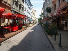 Street of Cafes in Budapest
