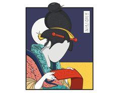 Astro Geishas on Behance