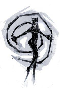Catwoman by naratani