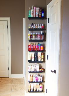 HOW TO: Organizing your beauty products... and if there's room, your pet's grooming products too!