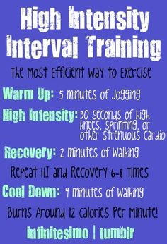 1000+ images about HIGH INTENSITY INTERVAL TRAINING ...
