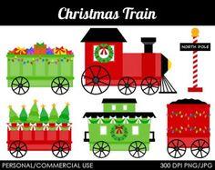 Christmas Train (63 pieces)