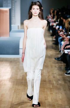 The Dress: Strapless, seen at Tibi F/W '15