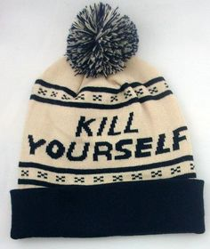 KILL YOURSELF beanie