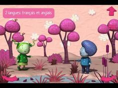 Bernard, a little blue boy, feels very lonely on the pink planet, where absolutely everything is pink: the trees, the houses and even the people! How To Speak French, Learn French, Education And Literacy, Literacy Centers, French For Beginners, French Songs, Preschool Colors, Film D, Core French