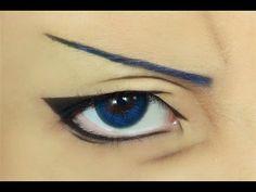 Tutorial : Anime Eye Makeup 110 • Aomine Daiki