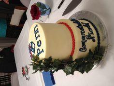 UPenn cake!! #graduation