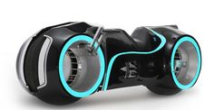 TRON bike, this one is real and works. Not a prop.