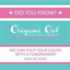 I can create a custom fundraiser for any organization big or small. Whether it's for a PTA/PTO, Dance School, Girl Scouts, Charity or Organization. Let me help you raise funds for your cause! Contact me today. kateesjewels@gmail.com