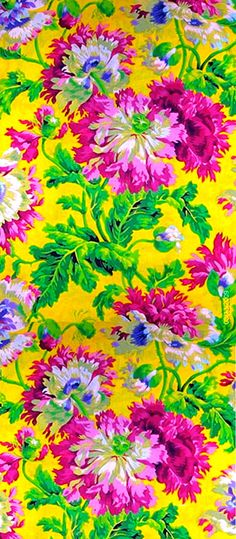 Phillip Jacobs floral print- love the colours!