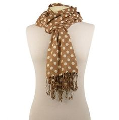 Cute, spotted scarf, 9.25