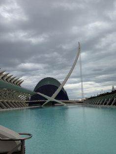 Ciutat de la ciencia Valencia España best place on earth