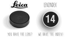LenzIndex - Custom Lens Cap Labels - DSLR Video Shooter