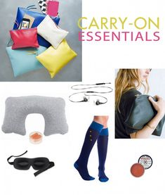 In My Bag: A Carry-on Pouch of Essentials (Travel Tips)