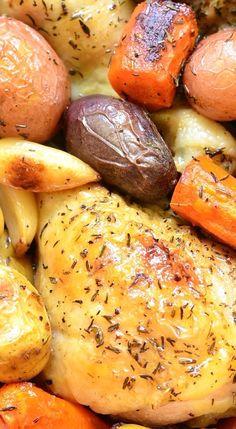 ... BRAISING on Pinterest | Red chicken, Braised brisket and Bourbon glaze